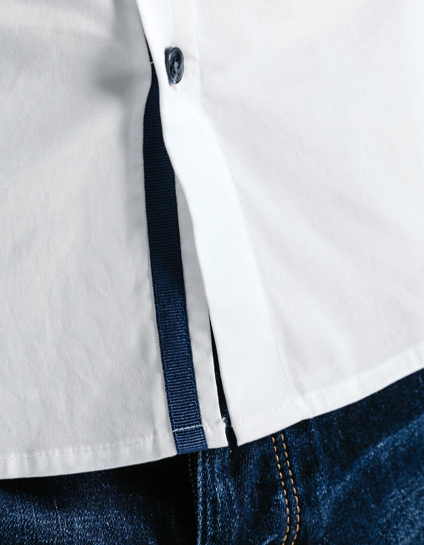 chemise extra slim unie blanc homme jules. Black Bedroom Furniture Sets. Home Design Ideas