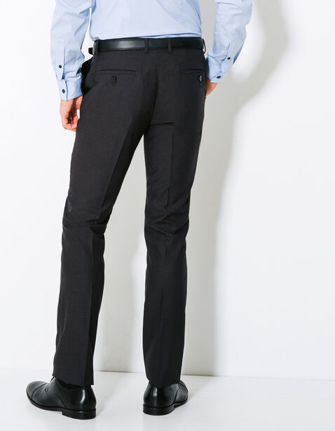 pantalon de costume slim gris anthracite homme jules. Black Bedroom Furniture Sets. Home Design Ideas