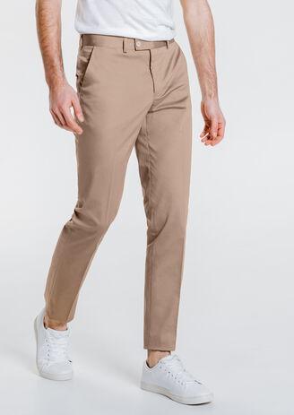 Pantalon de costume slim léger