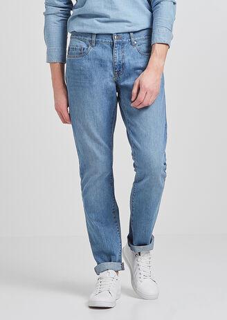 Jean Straight lavage clair