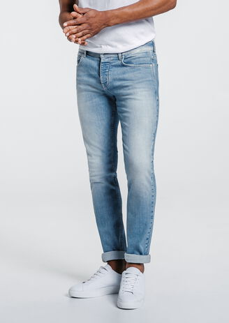 Jeans slim 4 longueurs