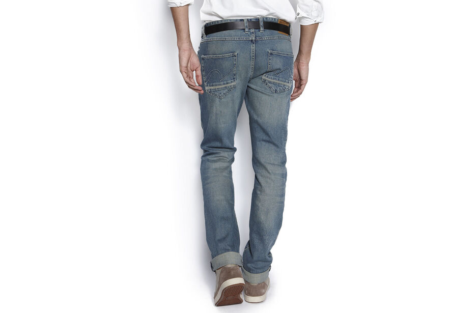 Jean slim heavy wash