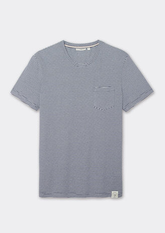Tee-shirt col rond à rayures