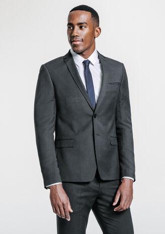 Veste de costume slim gris