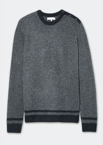 Pull nuage colorblock