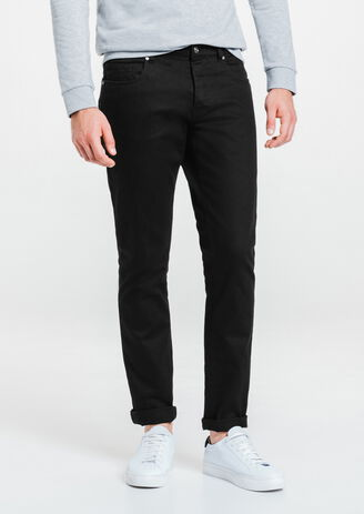 Pantalon 5 poches slim coton stretch
