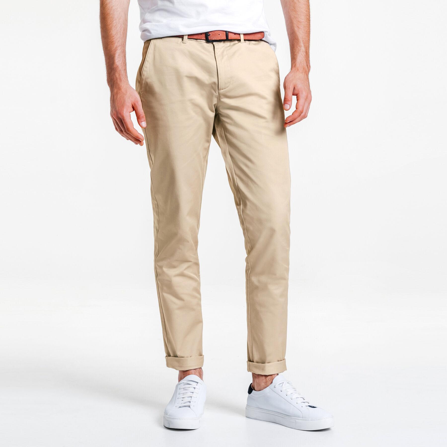 Jeans homme couleur rouille