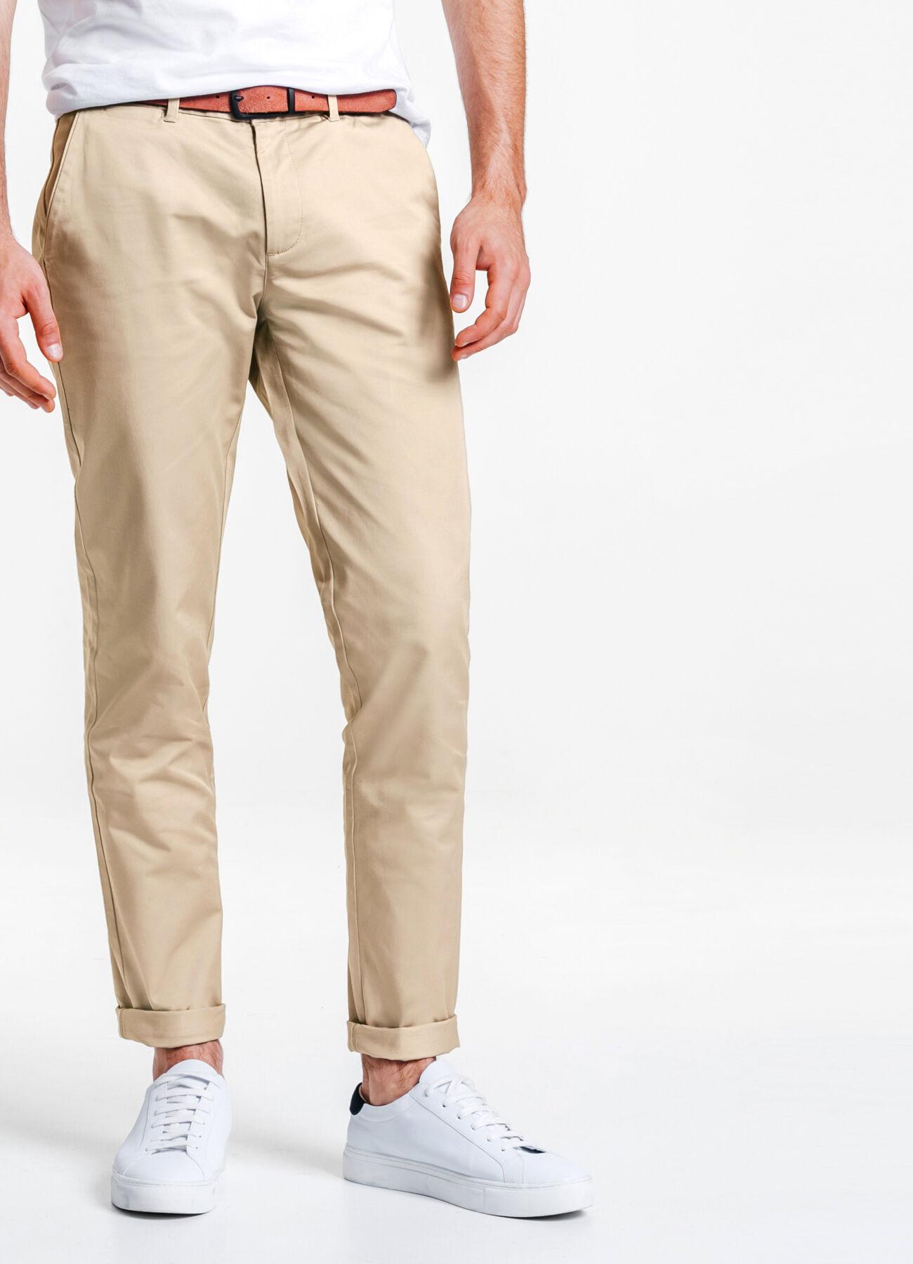 pantalon chino slim coton stretch beige homme jules. Black Bedroom Furniture Sets. Home Design Ideas
