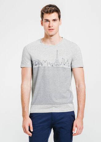 tee shirt rayures Paris