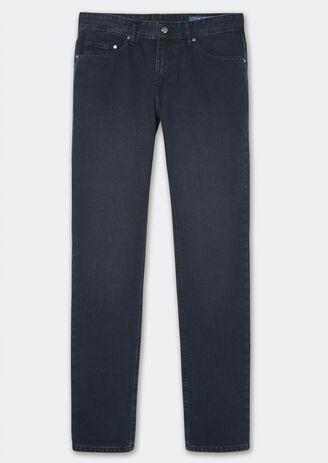 Jean Straight blue black