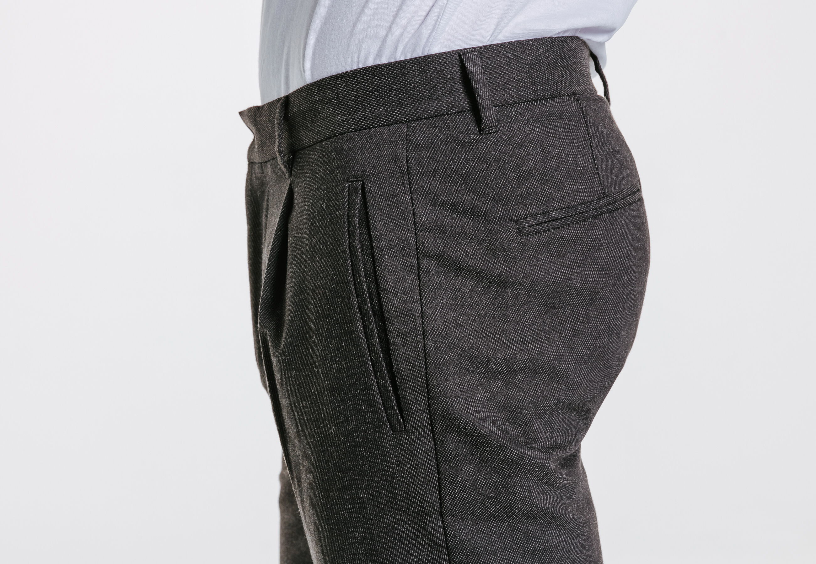 pantalon chino slim revers chevilles gris homme jules. Black Bedroom Furniture Sets. Home Design Ideas