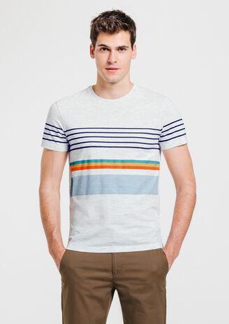 Tee shirt rayures