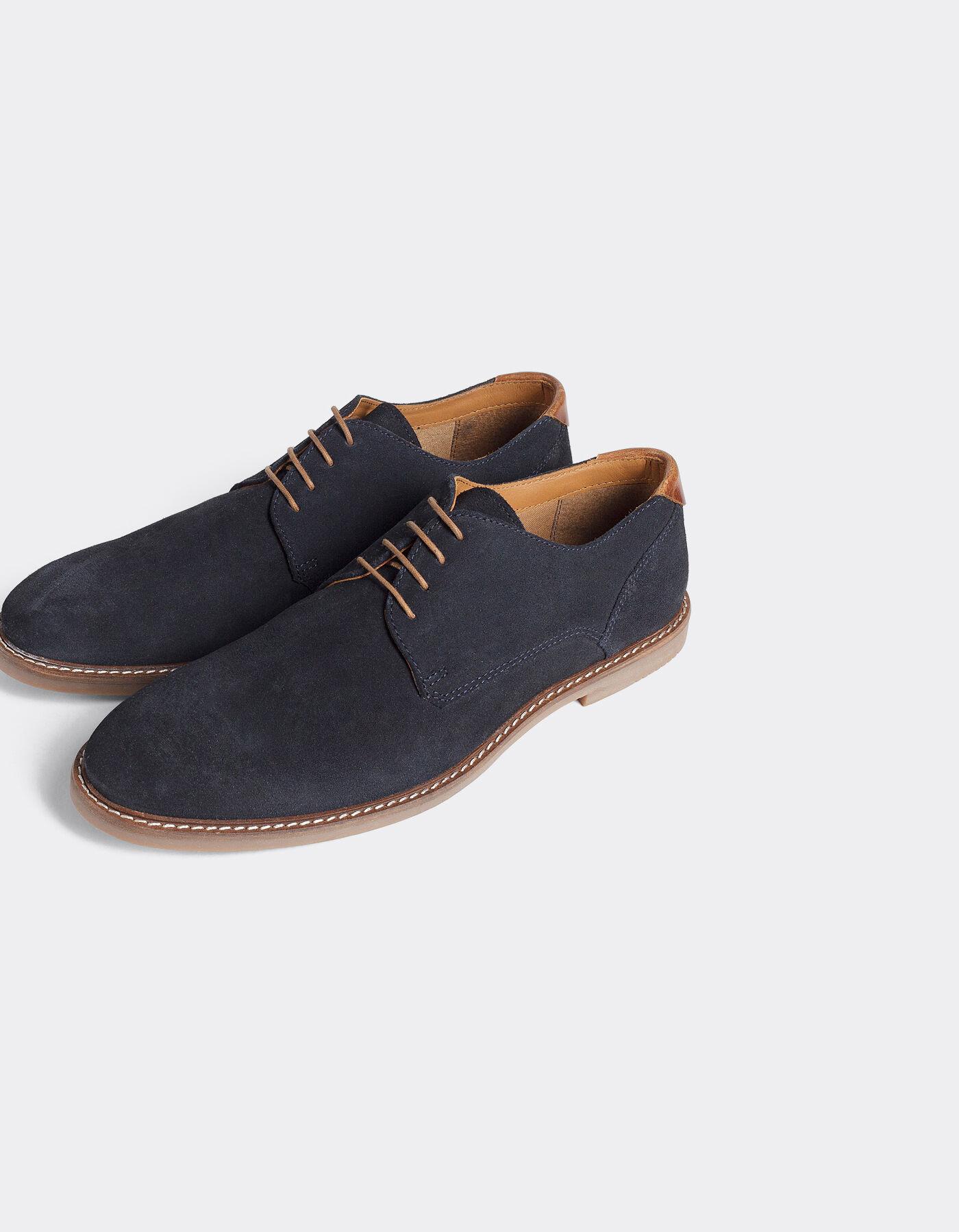 chaussure derby su d semelle contrast e bleu marine homme jules. Black Bedroom Furniture Sets. Home Design Ideas