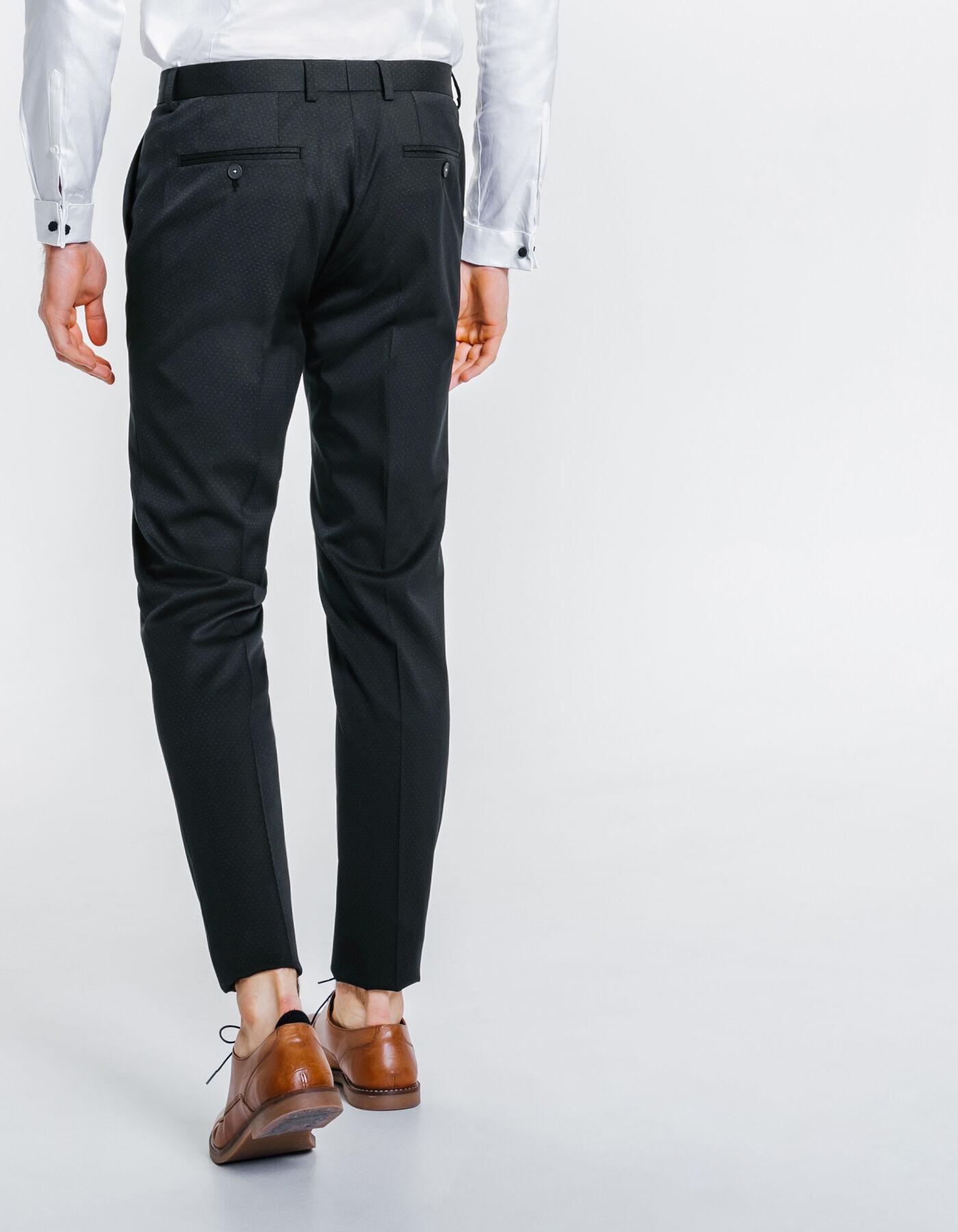 pantalon de costume slim bleu marine fantaisie homme jules. Black Bedroom Furniture Sets. Home Design Ideas