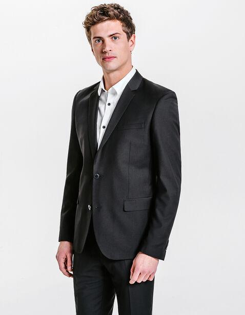 veste de costume fitted noir homme jules. Black Bedroom Furniture Sets. Home Design Ideas