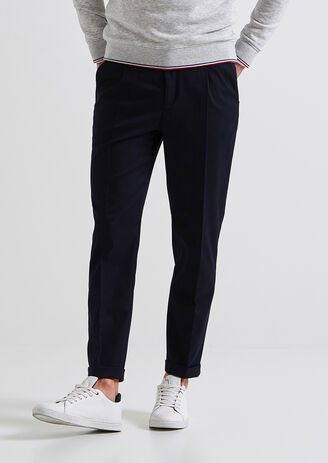 Pantalon de costume néo jogg