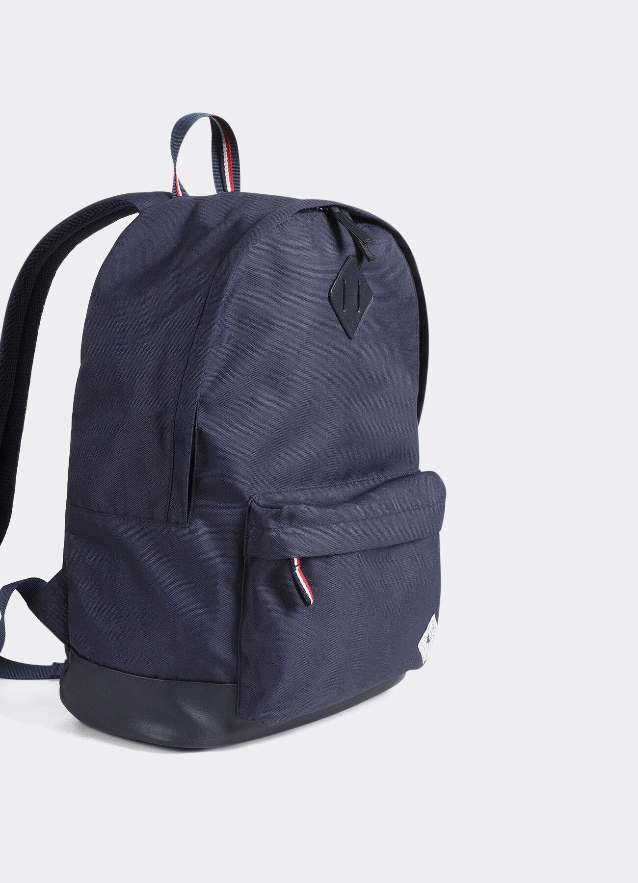 sac dos tricolore bleu marine fonc homme jules. Black Bedroom Furniture Sets. Home Design Ideas