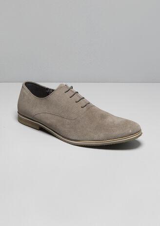 Chaussures cuir suédé
