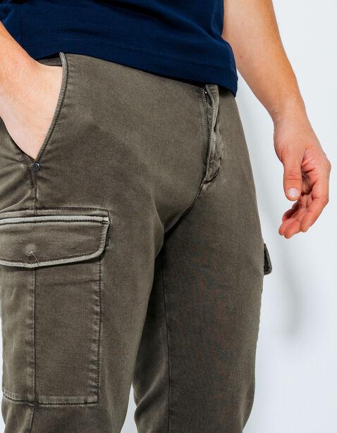 pantalon jogging poches army kaki homme jules. Black Bedroom Furniture Sets. Home Design Ideas