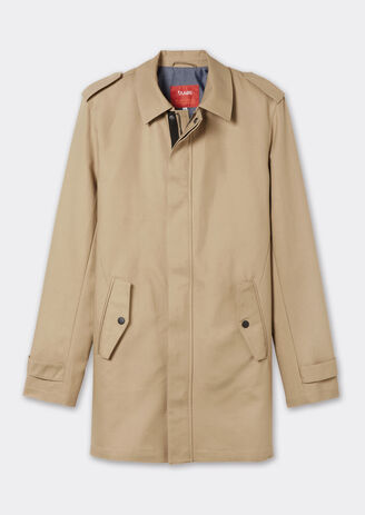 Parka type trench