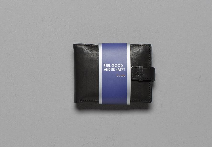 Portefeuille en cuir avec porte cartes noir homme jules - Portefeuille porte carte homme ...