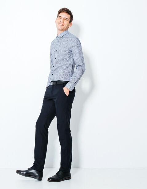 pantalon de costume slim bleu marine homme jules. Black Bedroom Furniture Sets. Home Design Ideas
