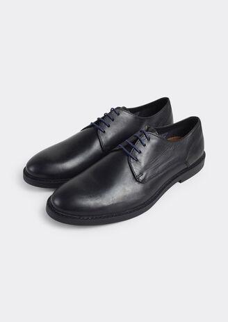 Chaussure derby cuir