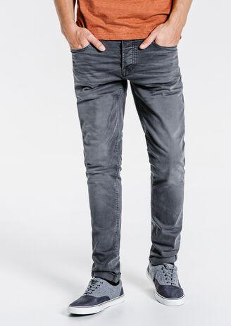 Jean slim couleur lavé