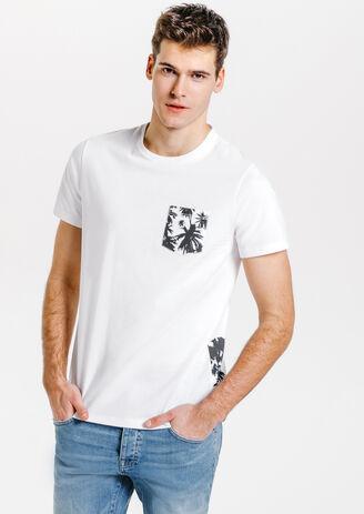 Tee shirt palmier