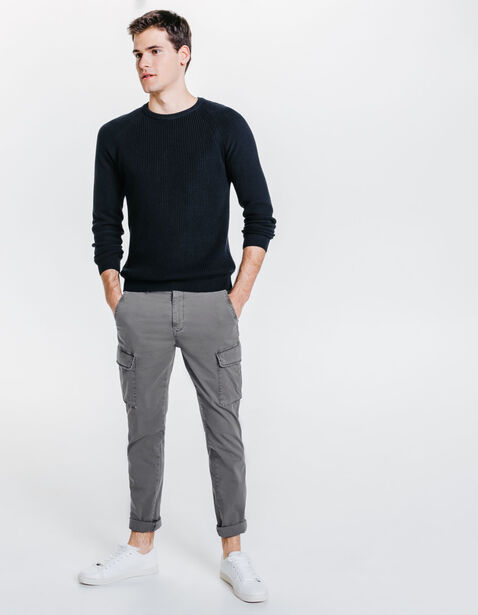 Pantalon slim battle