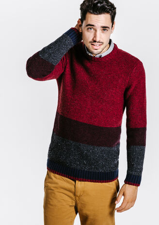 Pull esprit color block