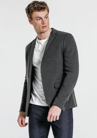 Veste de costume ajustée semi doublée