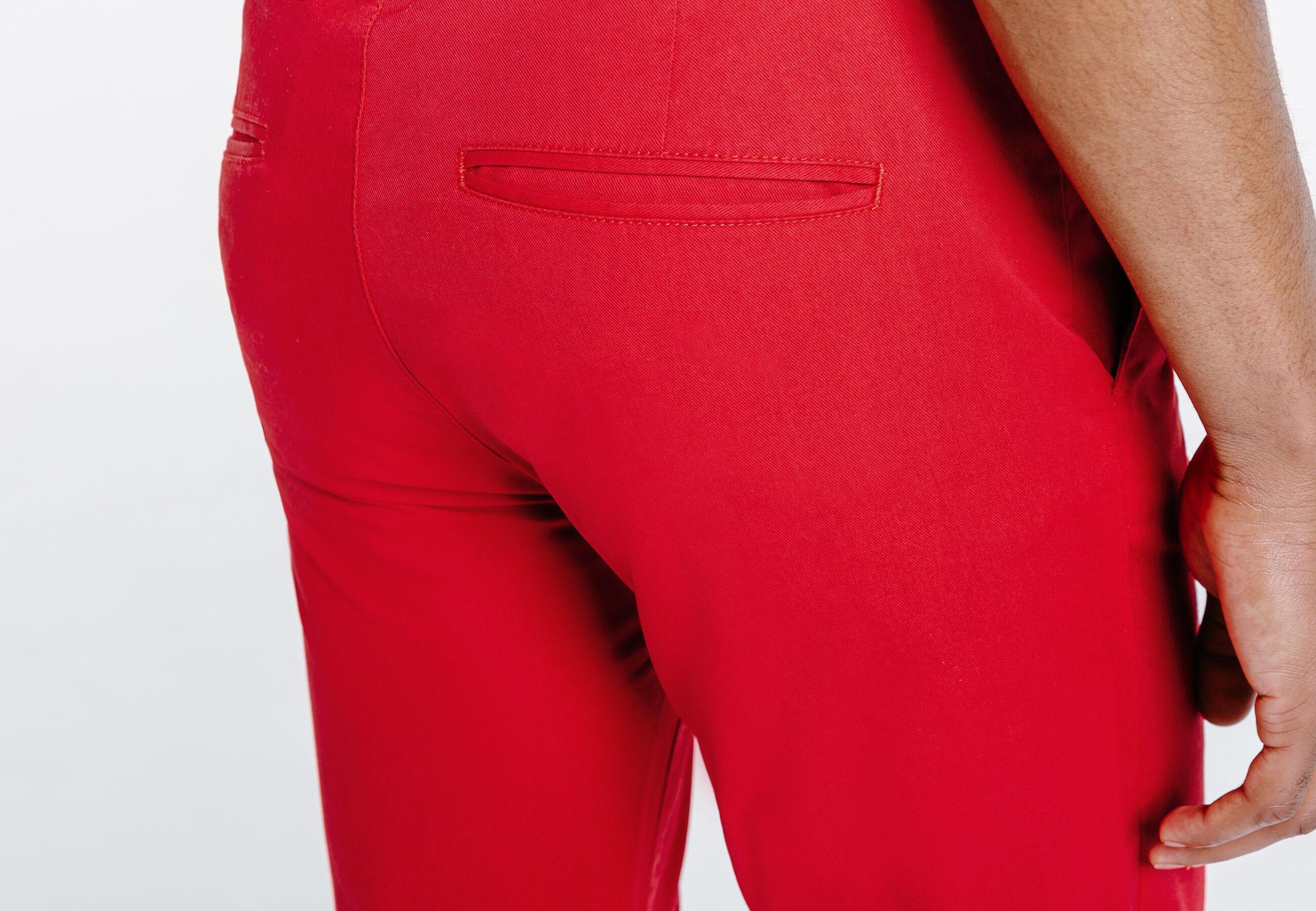 pantalon chino slim coton stretch rouge homme jules. Black Bedroom Furniture Sets. Home Design Ideas