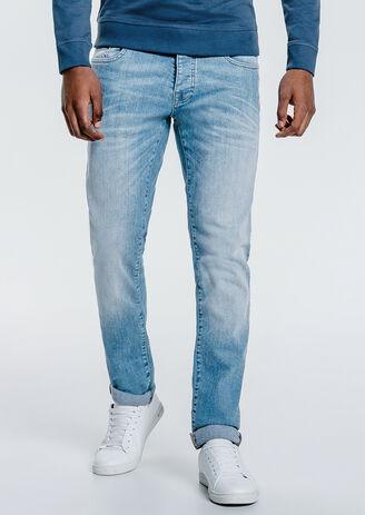 Jean slim bleu clair