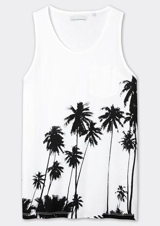 Débardeur palmiers