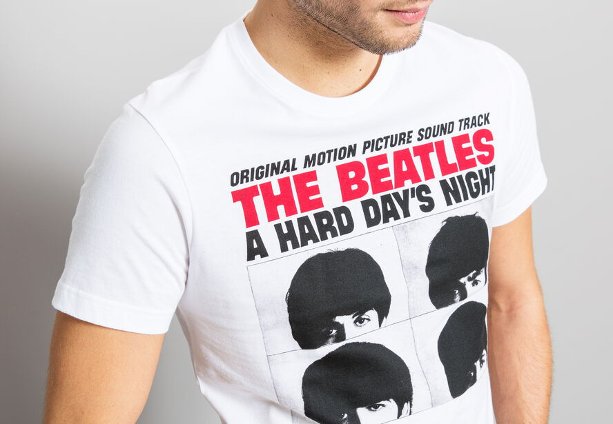 T-shirt imprimé licence THE BEATLES