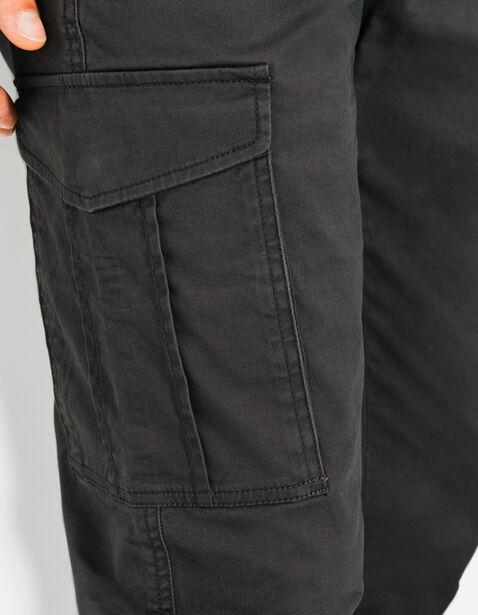 pantalon slim poches army gris acier homme jules. Black Bedroom Furniture Sets. Home Design Ideas