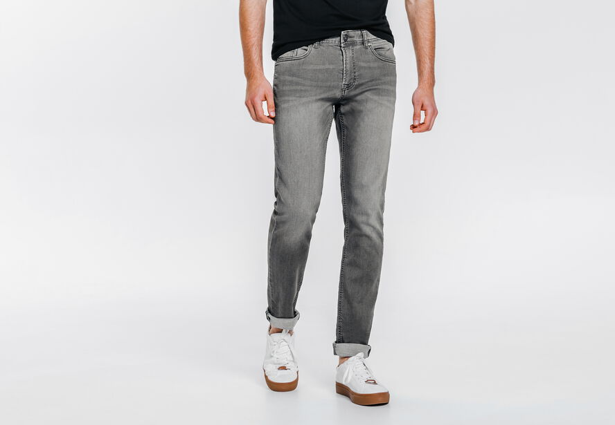 Jogg jean slim gris clair gris clair lg34 homme jules - Jean gris clair homme ...