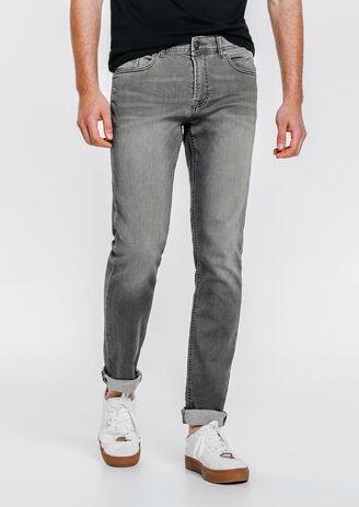 Jogg jean slim gris clair