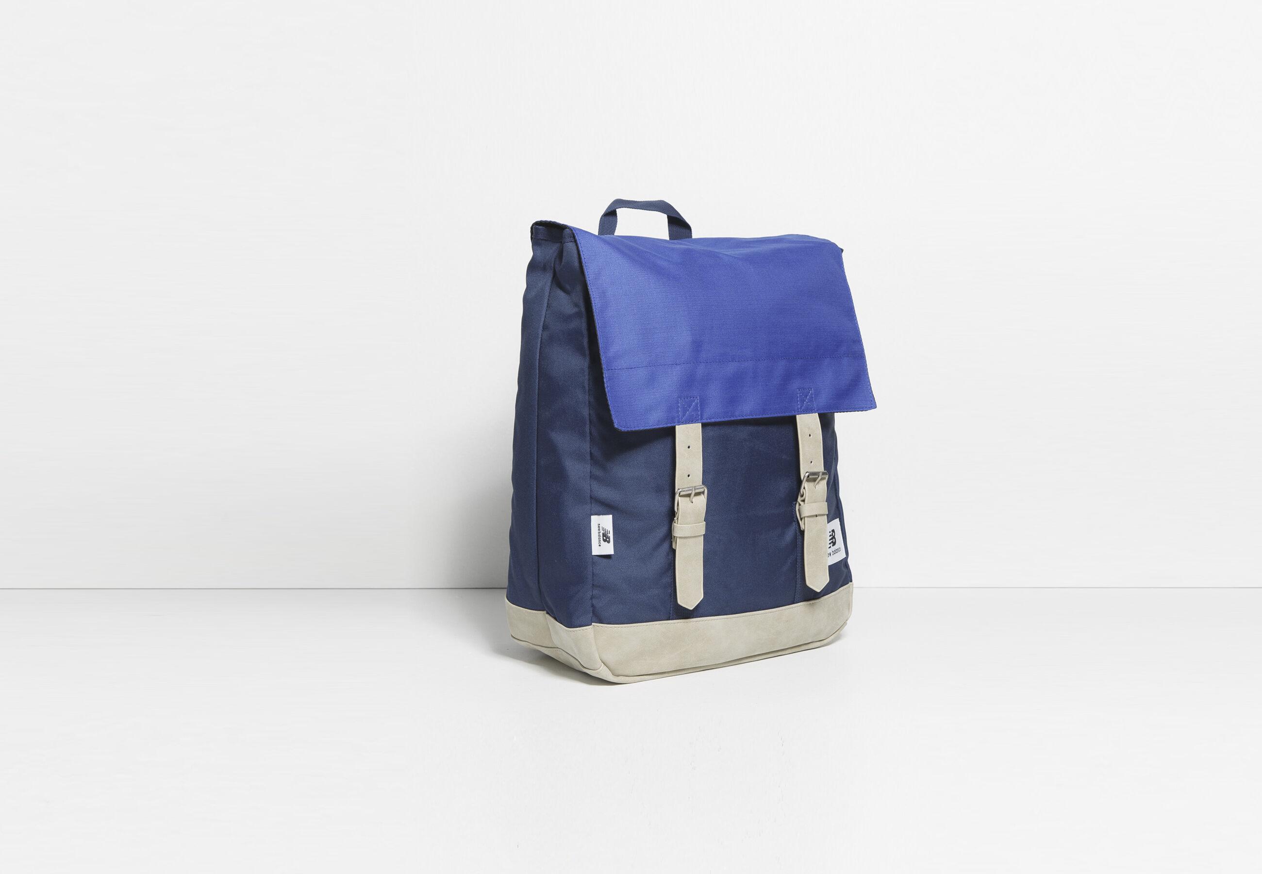 sac dos postier new balance bleu fantaisie homme jules. Black Bedroom Furniture Sets. Home Design Ideas