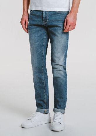 Jean slim greencast 4 longueurs