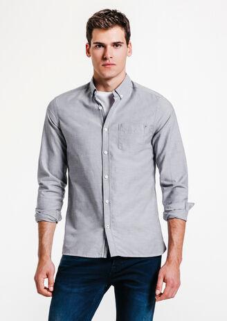 Oxfordhemd, slim