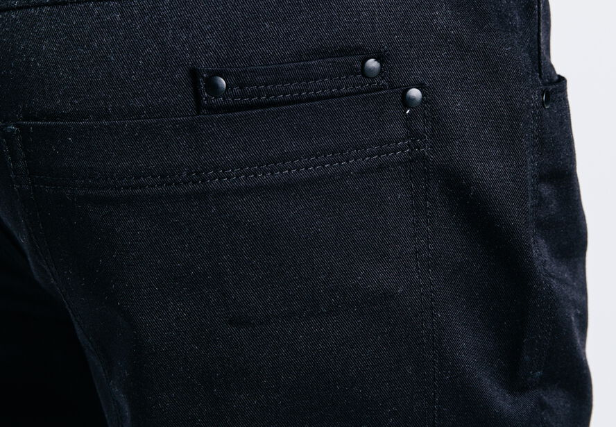 pantalon 5 poches straight noir homme jules. Black Bedroom Furniture Sets. Home Design Ideas