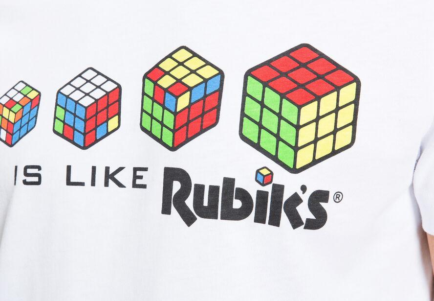 T-shirt imprimé RUBIK'S CUBE