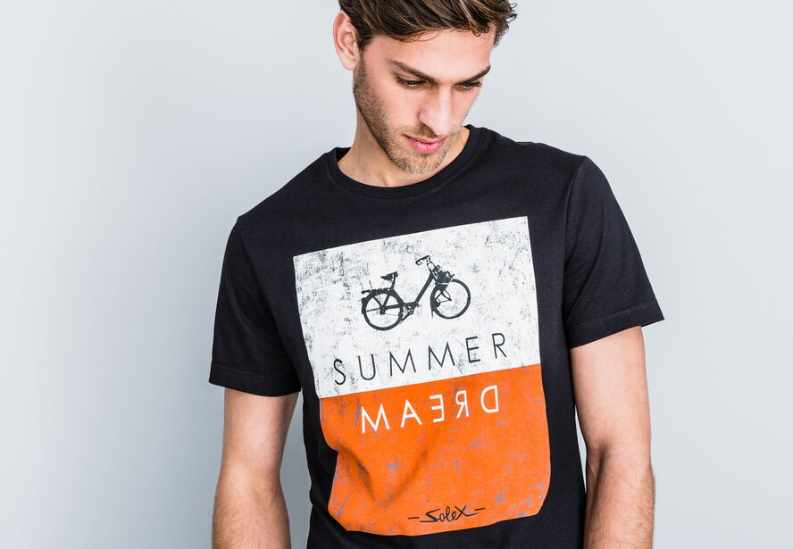 T-shirt col rond imprimé