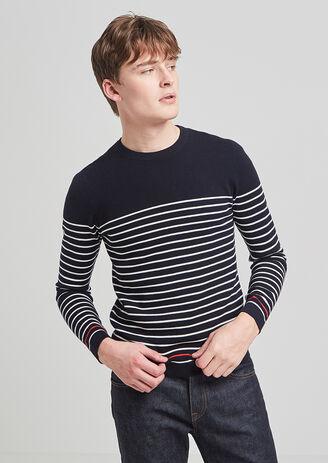 Pull marinière