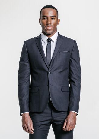 Veste de costume premier prix slim gris