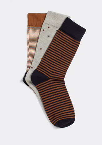 Lot de 3 paires de chaussettes fantaisies