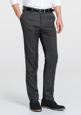 Pantalon de costume slim gris