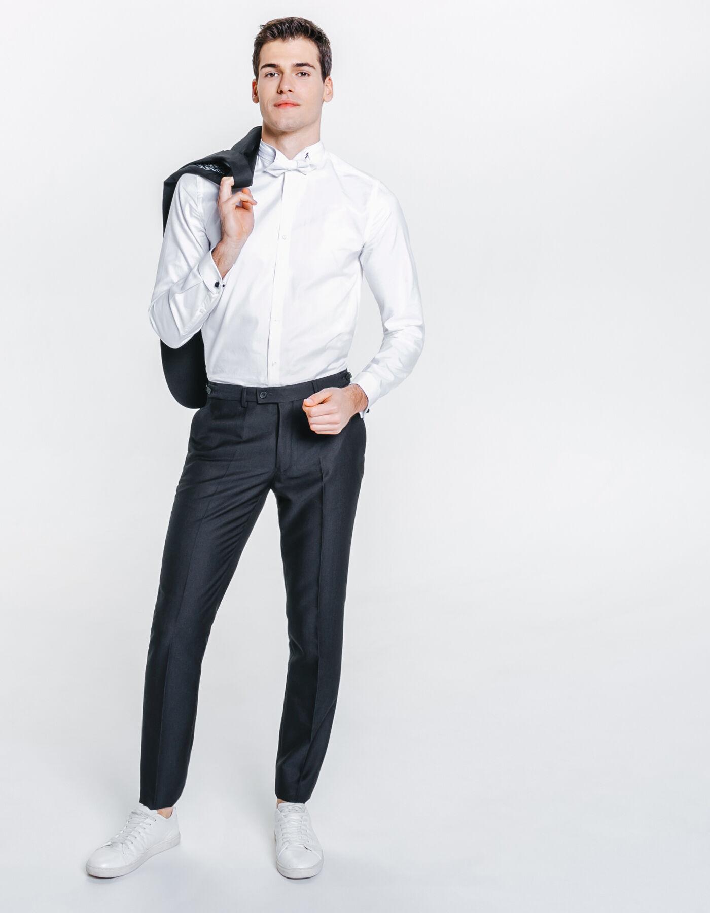 pantalon de costume slim bleu fantaisie homme jules. Black Bedroom Furniture Sets. Home Design Ideas